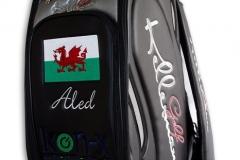 Tourbag MONTECASTILLO M2 schwarz: Waliser Flagge 1