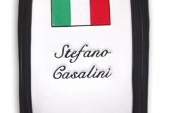 Tourbag MONTECASTILLO M2 schwarz: Flagge Italien 2