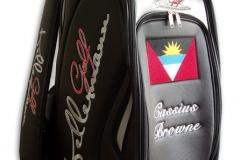 Tourbag MONTECASTILLO M2 schwarz: Flagge Antigua Barbuda 2