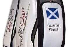 Tourbag MONTECASTILLO M2 schwarz: Flagge Schottland 2
