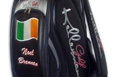 Tourbag MONTECASTILLO M2 schwarz: Flagge Irland 2