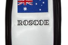 Tourbag MONTECASTILLO M2 schwarz: Flagge Australien 1