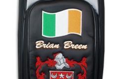 Tourbag MONTECASTILLO M3 schwarz: Irisches Familienwappen 1