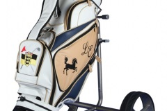 Individuells Golfbag aus echtem Leder