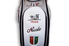 Golfbag mit Wappen von Trier und Trassem