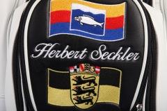 Golfbag / Cartbag mit Baden-Württemberg-Flagge