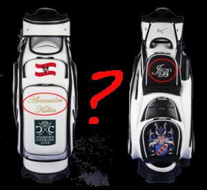 Personalisierte Golfbags