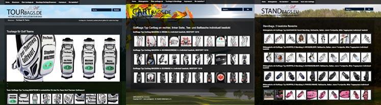 Golfbag-Showrooms
