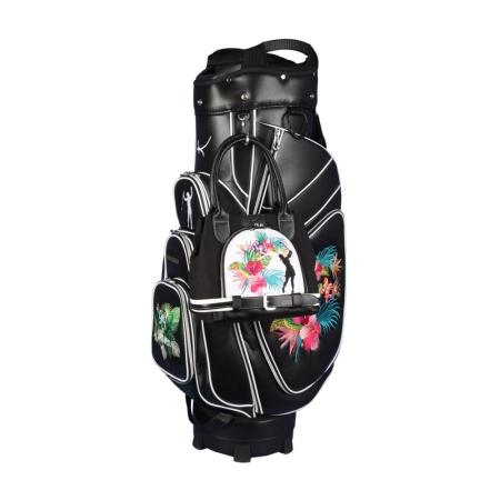 Sacca da golf carrello GINEVRA in nero & borsa MY WAY nel design