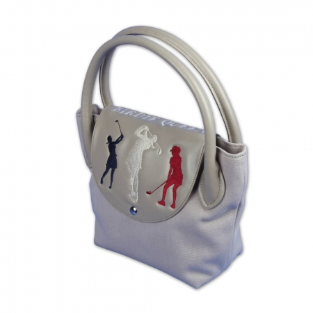 Пользовательские сумки MY WAY. Гольф Дизайн. «Birdie Queen». Тонкий элегантность