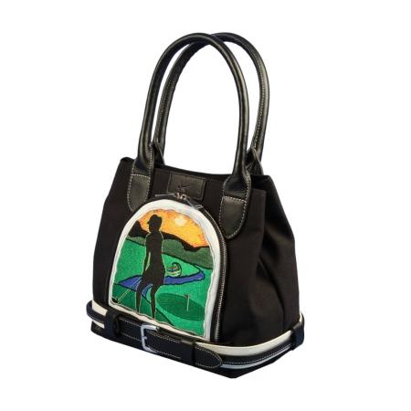 Пользовательские сумки MY WAY. Гольф Дизайн. «Hilly Openy». Пояс стиль
