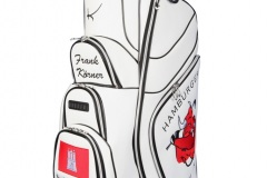 Golf Cartbag  mit Hamburger Flagge