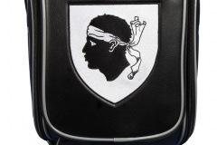 Golfbag mit der Flagge von Korsika