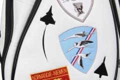 Golfbag mit Wappen Normandie-Niemen