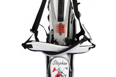 Golfbag / Pencil Standbag: Fahne und Golfschläger