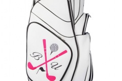 Golfbag mit Golfschläger-Design