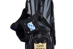 Golfbag / Standbag. Gekreuzte Golfschläger