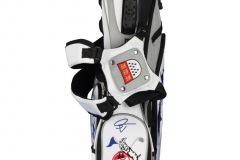 """Golfbag / 7,5"""" Standbag: Fahne und Golfschläger"""