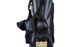 Golfbag / Standbag: Golfschläger gekreuzt