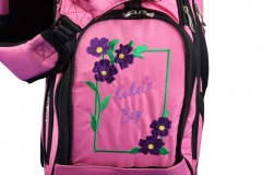 Golfbag Flower Frame