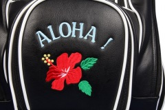 "Golfbag mit Blumendesign ""Aloha"""