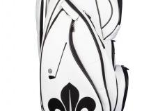Golfbag mit schwarzer Lilie
