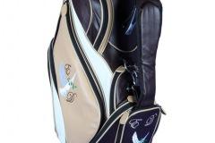 Individuells Golfbag aus echtem Leder: Bird of Piece
