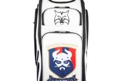 Golfbag / Tourbag in weiss: Katze