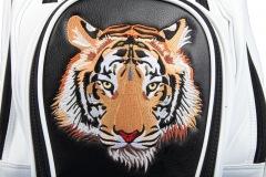 Golfbag / Cartbag individuell bestickt: Tiger