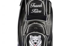 Golfbag / Cartbag individuell bestickt: Eisbär