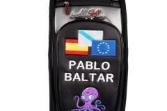 Golfbag, Tourbag: Tintenfisch