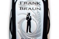 Golfbag / Tourbag in weiss: James Bond