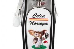 Golfbag / Tourbag in weiss: Gremlin