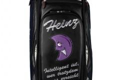 Golfbag / Tourbag in schwarz: Lila Mond