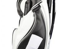 Golfbag / Cartbag . Golfball mit Kochmütze