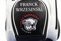 Golfbag / Cartbag mit Bulldoggen-Logo