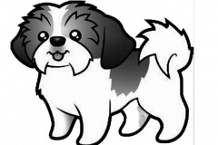 Hunde-Graphik