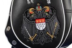 Golfbag mit altem Kölner Wappen