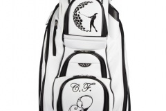 Golfbag / Cartbag in weiss: Ladies Golf