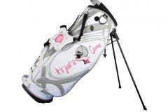 Golfbag / Standbag in weiss/silber: Ladies Golf