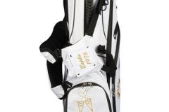 Golfbag / Standbag weiss: Cheers