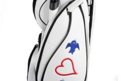 """Golfbag / Cartbag individuell bestickt """"Liebe"""""""