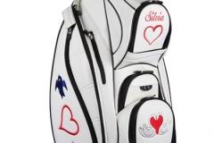 """Golfbag """"Liebende Schwäne"""""""