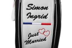 """Ladies Staff Bag """"Just Married"""