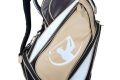Golfbag Leder mit Golfmotiv