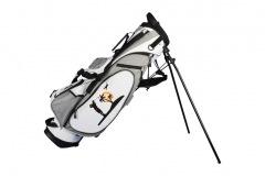 Golfbag / Pencil Standbag: Golfer unter Palmen
