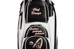 Golfbag / Cartbag : männlicher Golfer