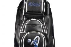 Golfbag / Cartbag: Blauer Golfer