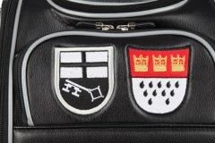 Golfbag: Wappen Brilon und Köln