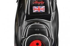 Golfbag / Cartbag in schwarz: Yin Yang